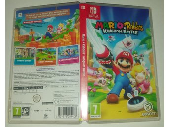 Mario + Rabbids Kingdom Battle till Nintendo Switch! Passa på! 1kr
