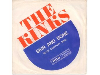 "KINKS - Skin And Bone  7"" Singel  Jugoslavien"