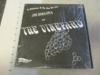 Joe Rosanova & The Vineyard. Lp. 1968. US. Psych. RARE