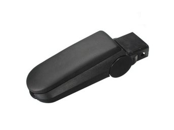 Leather Arm Rest Console Cover and Storage Box for VW Gol...