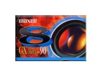 Maxell P5-90 GX Video 8 Metal Kameraband Ord Pris 69 kr SALE