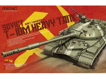 Meng Model 1/35 Soviet T-10M Heavy Tank