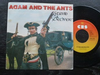 "ADAM AND THE ANTS - Stand and deliver CBS Holland -81  7"" singel"