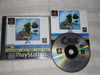 PlayStation/PS1: Croc: Legend of the Gobbos - Stockholm - PlayStation/PS1: Croc: Legend of the Gobbos - Stockholm