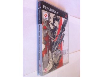 PS2: Metal Gear Solid 2 (II) - Sons of Liberty