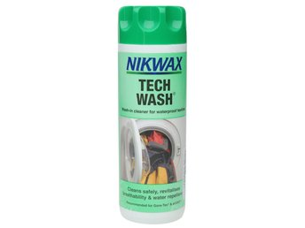 NIKWAX TECH WASH 300 ml tvättmedel tvättimpregnering impregnering GORE-TEX mm