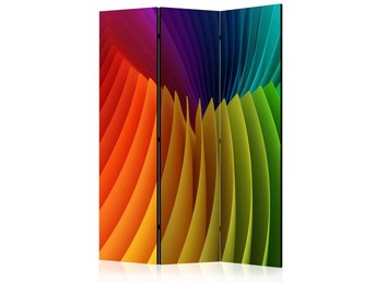 Rumsavdelare - Rainbow Wave Room Dividers 135x172