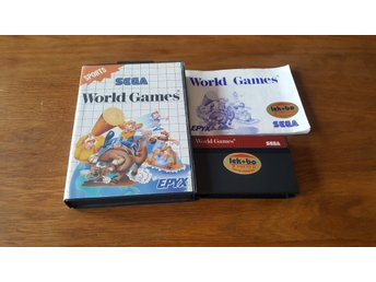 WORLD GAMES KOMPLETT MASTER SYSTEM
