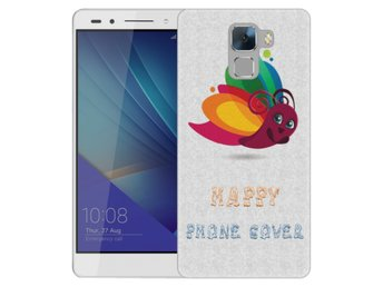 Huawei Honor 7 Skal Happy Phone Cover