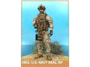Airborne Miniatures US Navy Seal / Special Forces Operator figur 1/35