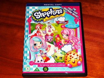 SHOPKINS ~ Chef Club ~ Shopkins Movie ~ DVD