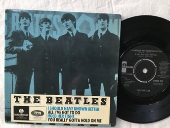 Beatles-I should have known better (1964) EP GEOS 224 TOPPEX