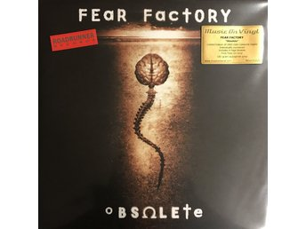FEAR FACTORY - OBSOLETE NY 180G GULFÄRGAD LP LIMITED