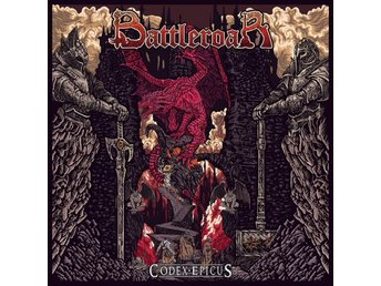 Battleroar -Codex epicus LP 2018 epic heavy metal vinyl