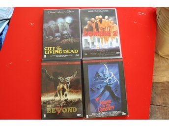 Lucio Fulci 4x Zombie 2 The Beyond House by the cemetery city living dead