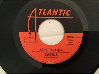 Cactus-Long tall Sally/Big mama boogie (1971)