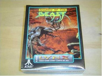 SHADOW OF THE BEAST ATARI LYNX *NYTT*