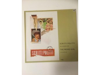 SCRITTI POLITTI - THE WORLD GIRL. (MVG LP)