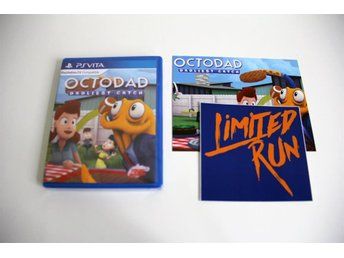 Octodad: Dadliest Catch - PS Vita NYTT Limited Run Games