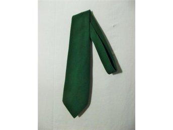 Bred skogsgrön slips Retro 70-tal - Gävle - Bred skogsgrön slips Retro 70-tal - Gävle