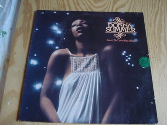 LP. Donna Summer. (Love to love you baby)