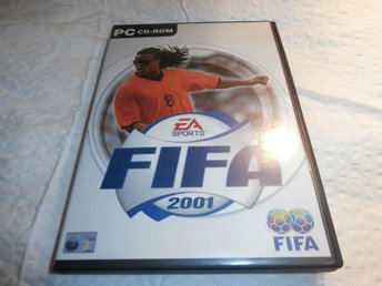dataspel PC cd room fifa football 2001