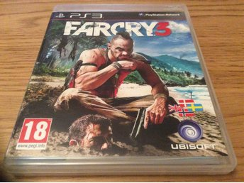FARCRY 3 med manual  Playstation 3 ps 3