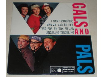 Gals And Pals OMSLAG EP I San Francisco 1963