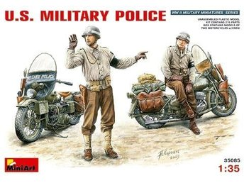 Miniart 1/35 US Military Police w/Motorcycle