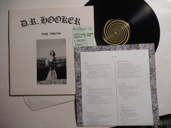 D.R. Hooker,,,,,,,The Truth ))))) Acid / Psych-72 Subliminal sounds SUBLP-14