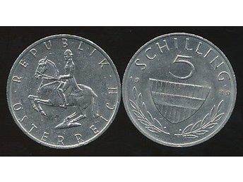 Austria 5 Shilling 1989 - Västra Frölunda - Austria 5 Shilling 1989 - Västra Frölunda