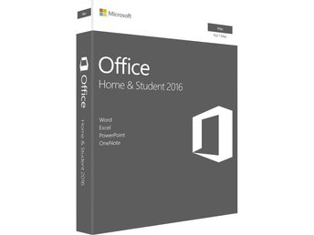 Microsoft Office 2016 Home and Student RETAIL MAC (SVE/ENG)