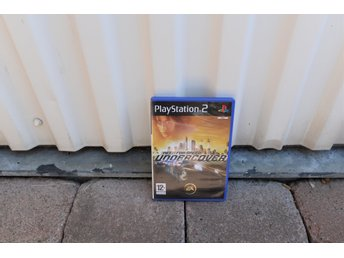 Playstation 2 PS2 NFS Undercover Need for speed