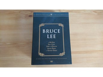 DVD-box med Bruce Lee