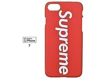 SUPREME Iphone 7/8+ (Plus) Skal röd vit färg !