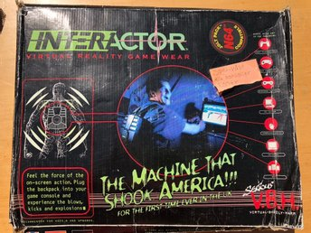 Aura Interactor VR Game Wear - PC, AMIGA, MAC, PLAYSTATION, NINTENDO, XBOX etc