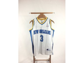 Vintage Champion Basketlinne New Orleans Pelicans - #3 Paul - Storlek XS