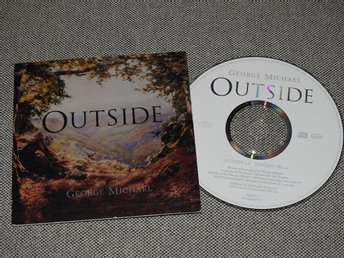 George Michael - Outside CD Singel (Pappfodral)