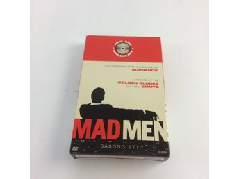 Mad Men Säsong 1, TV-serie, DVD, Drama, 2007