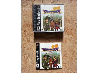 Dragon Warrior/Quest VII 7, Playstation, NTSC