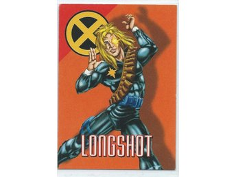 MARVEL X-MEN  SAMLARKORT - LONGSHOT