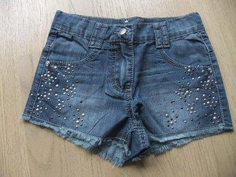 Nya snygga jeansshorts stl 146, äkta Claire - Västra Frölunda - Nya snygga jeansshorts stl 146, äkta Claire - Västra Frölunda