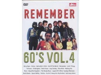 Rember 60 s VOL. 4 DVD