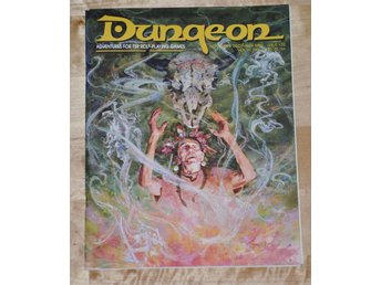 AD&D/D&D Dungeon Magazine #32 (Nov/Dec 1991) 72 sidor.