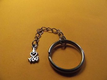 I love you nyckelring / I love you keyring