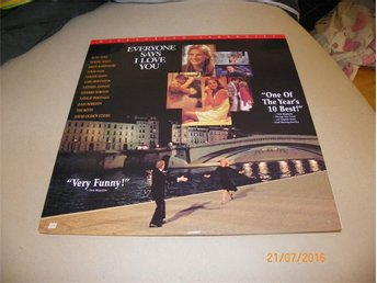 Everone says i love you - Widescreen laserdisc - 1st