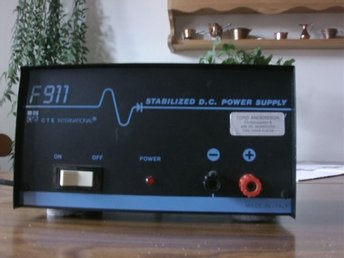 Stabilized DC power supply   11 amp