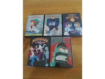 Futurama säsong 1-6 (Dvd, s.2-6 inplastad, s.1 Nyskick) - Söderköping - Futurama säsong 1-6 (Dvd, s.2-6 inplastad, s.1 Nyskick) - Söderköping
