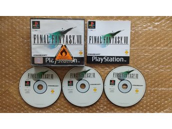 PlayStation/PS1: Final Fantasy VII 7