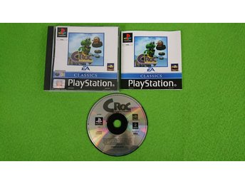 Croc KOMPLETT Playstation 1 PSone ps1